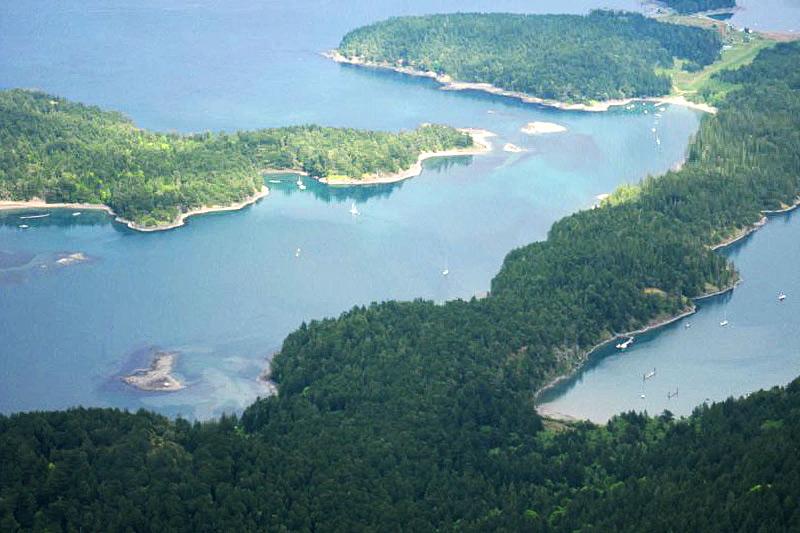 Prevost Island, Gulf Islands National Park, Southern Gulf Islands, British Columbia, Canada