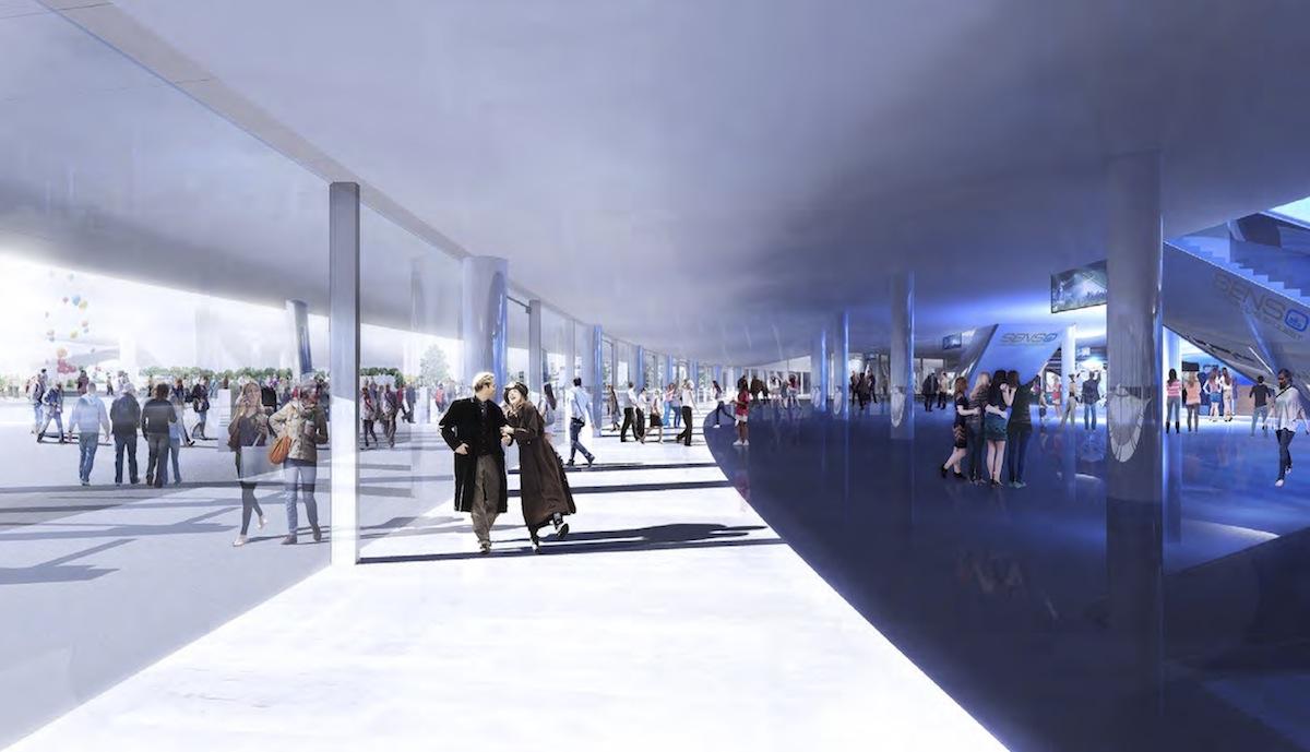 Bordeaux floirac bordeaux m tropole arena 11 300 for Location cub bordeaux