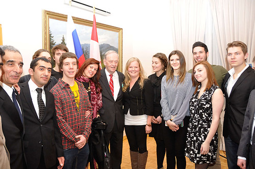 Vanier Students Celebrate Russian Students Day