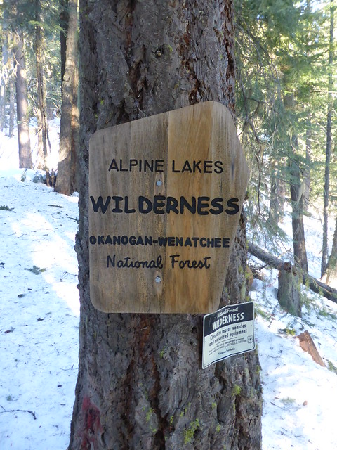 Header of Alpine Lakes Wilderness