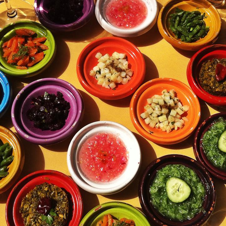 Lounas marokkolaisittain