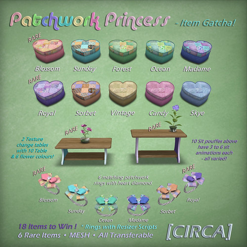 "[CIRCA] - ""Patchwork Princess"" - Item Gacha"