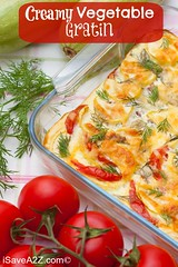 Creamy Vegetable Gratin Recipe