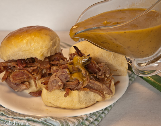 Pulled Ham Sandwiches with Honey-Mustard Barbecue Sauce-7.jpg
