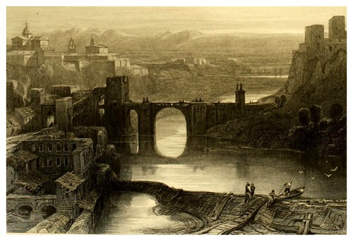 007-Toledo-Picturesque views in Spain and Morocco…Tomo II-1838-David Roberts