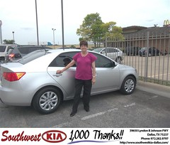#HappyAnniversary to Fredrick Stubblefield on your 2012 #Kia #Forte from Mercado Salvador  at Southwest Kia Dallas!