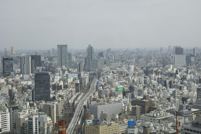 Hotel Room View, Tokyo