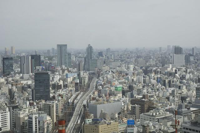 Hotel Room View, Tokyo