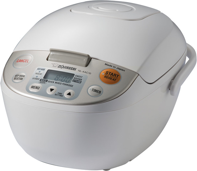 Giveaway: Perfect Rice Every Time with the Zojirushi Rice Cooker and Warmer