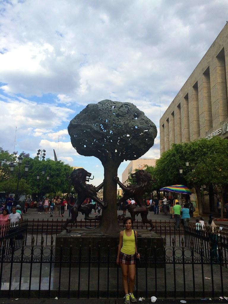 En el Escudo de Guadalajara