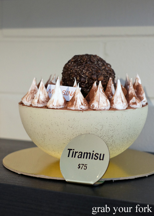 Messina tiramisu gelato cake at Gelato Messina HQ, Rosebery