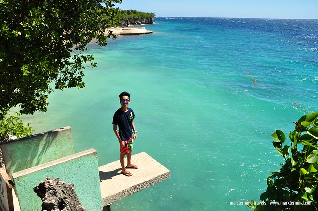 Cliff Jumping at Salagdoong Beach Siquijor