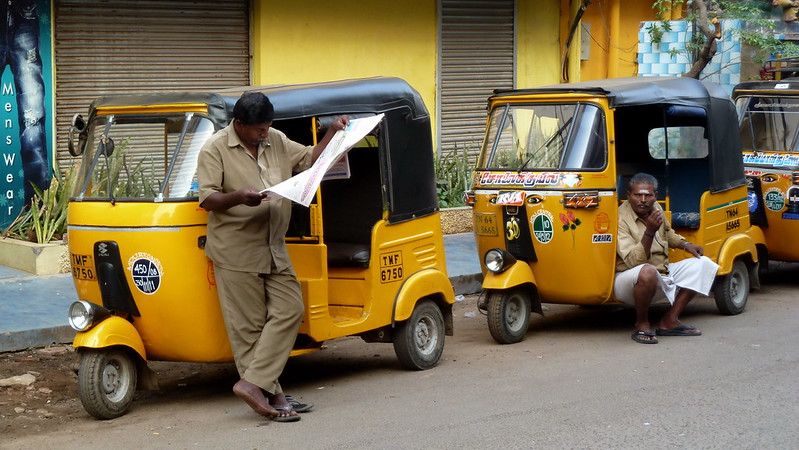 India - Tamil Nadu - Madurai - Auto Rickshaws - 12