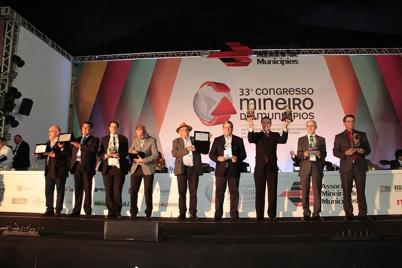 Entrega do Prêmio Mineiro de Boas Práticas na Gestão Municipal