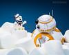 BB-8 : Stay Puft Marshmallow Man.