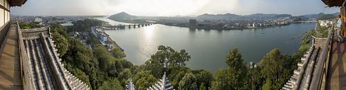 panorama castle japan photoshop river nikon photomerge inuyama 犬山 kiso d600 犬山城 cs6 18photo