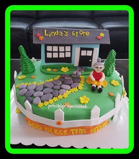 Michel Lou Chu's Cute Cake