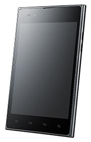 The LG Optimus Vu: measures 139.6 x 90.4 x 8.5 mm.