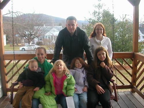 Feb 18 2012 Elden Ruth Shanna Rachel Lizzy Daniel Ila
