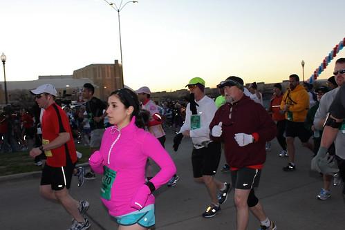 Just started the Half-Marathon
