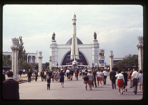 Cosmos Pavilion in VVC, Moscow, 1969