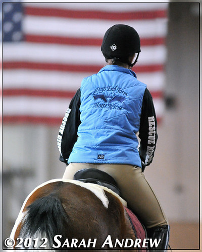 Rescue Riders drill team from Days End Farm Horse Rescue at the 2012 PA Horse World Expo