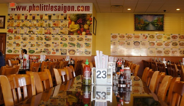 pho little saigon - interior