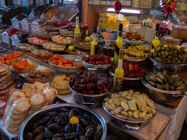 Food Stand in Istanbul