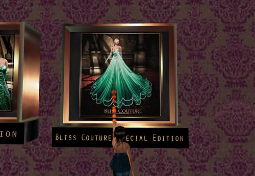 *Bliss Couture* Estela Gown (St Patrick's Edition), 790 lindens by Cherokeeh Asteria