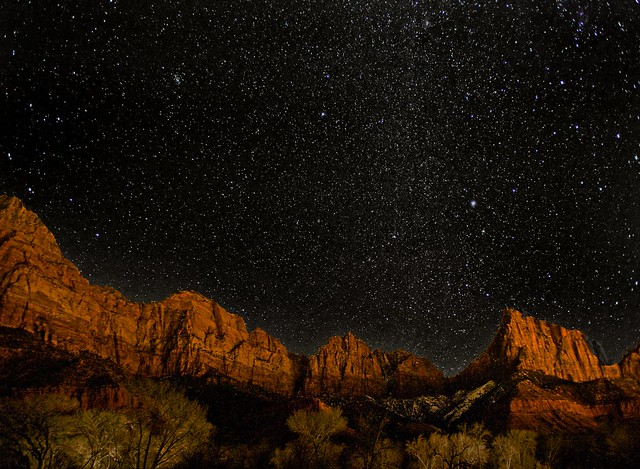 Zion By Starlight