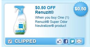 Renuzit Super Odor Neutralizer Product Coupon