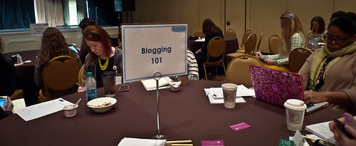 Niche Tables at Blissdom