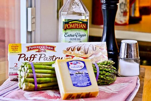 Asparagus & Gruyere Tart 16
