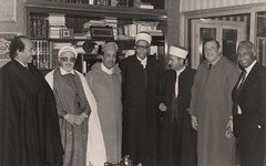 مع القادري و علال الفاسي و اخرين