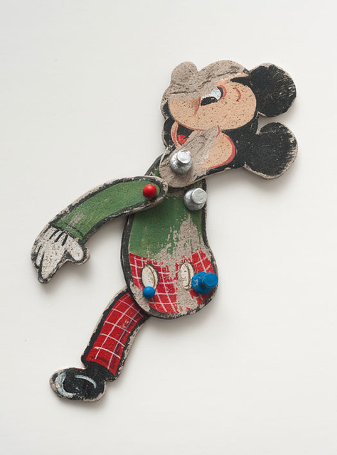 Kristen Morgin, Untitled Mickey with Red Plaid Pants, 2011