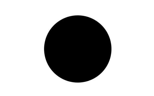 Draw or digitally design a circle. Fill in the circle with the colour or colours that reflect the way your body feels today - Black