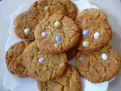 Easter Easy Mini Egg Cookies Recipe