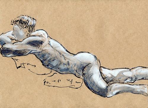 Life Drawing - 03-07-12-2