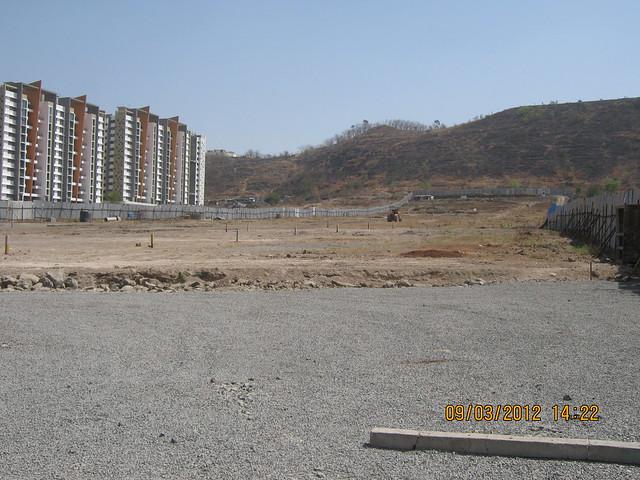 Site of  Amit's Gaia near Pride Platinum Pancard Club Baner Pune