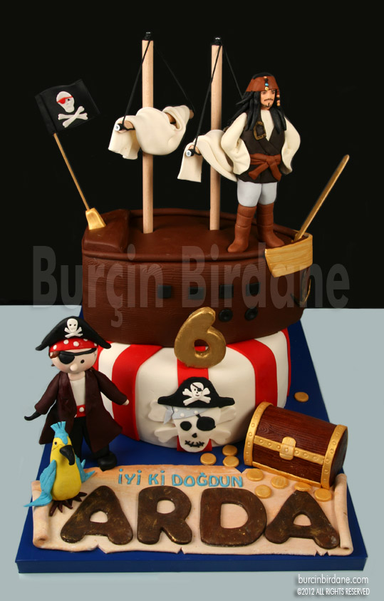 Pirates of Caribbean Cake