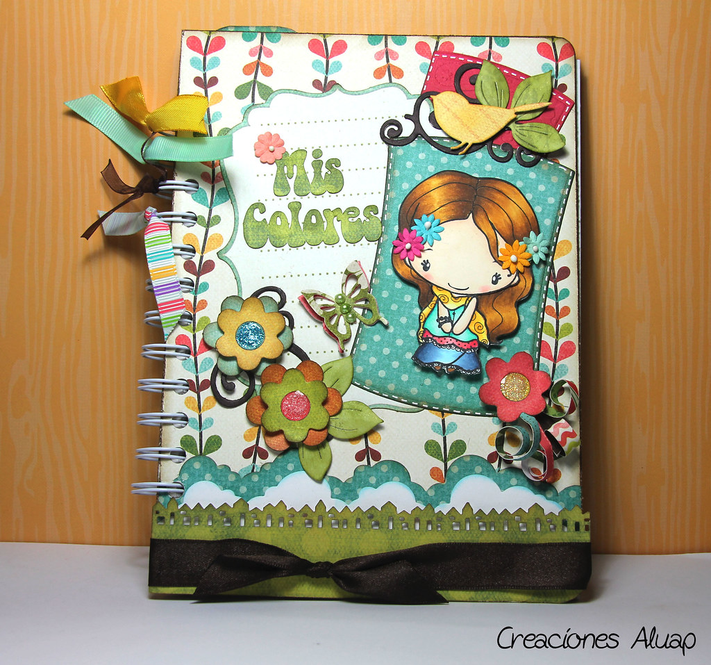 Libreta colorchart greeting farm boho