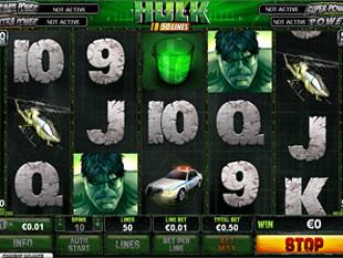 The Incredible Hulk 50 Lines Slot Machine
