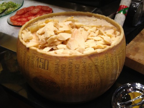 Parmesan wheel - Fogo de Chao