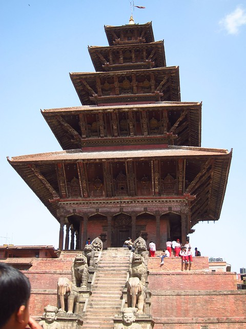 Nyatapola (Five-Tiered Temple) in Bhaktapur