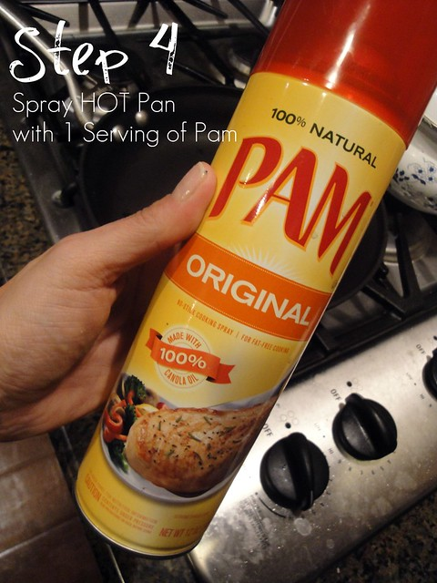 Step 4 Spray Pan