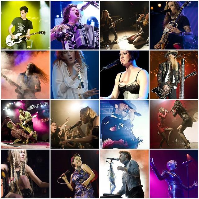 Exposición de fotografía de conciertos FLASHES & SOUNDS by Rosario López