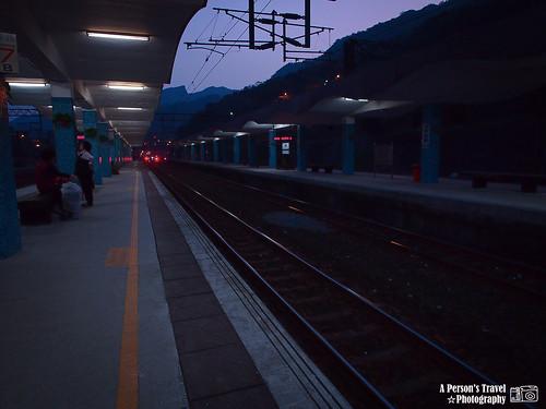 歸途 @侯硐車站 月台上