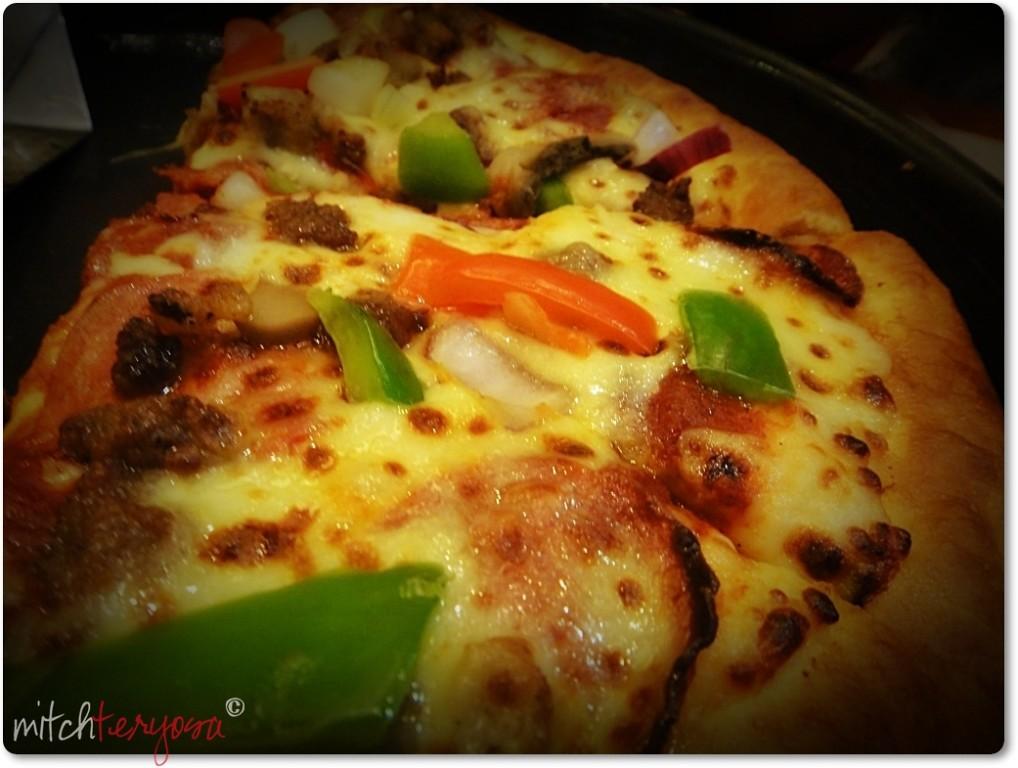 Family Supreme line Pan Pizza