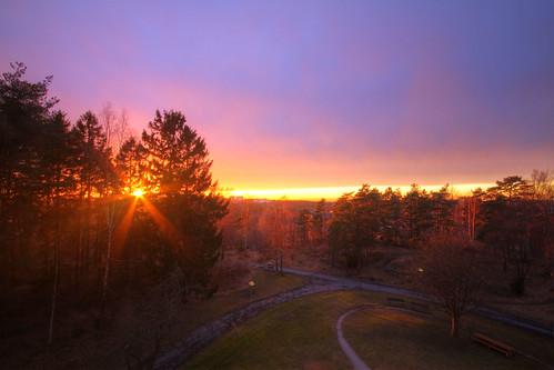 sunset göteborg sweden sverige hdr bergsjön sigma1020mmf456exdchsm canoneos7d