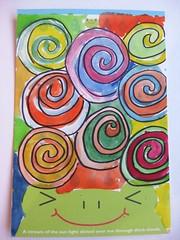 handmade postcard 9 2012